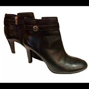 Tory Burch Brita Heel Booties Size 11 Medium